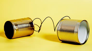 Tin can phones